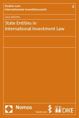 Abbildung von Schicho   State Entities in International Investment Law   2012   4