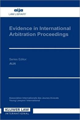 Abbildung von Eijsvoogel | Evidence in International Arbitration Proceedings | 1994 | 2001