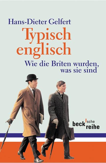 Cover: Hans-Dieter Gelfert, Typisch englisch
