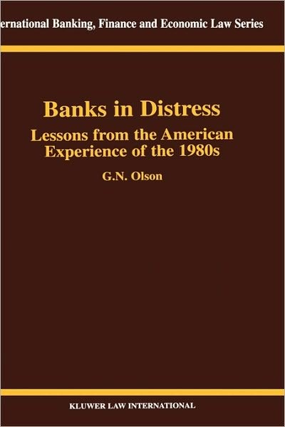 Banks in Distress Lessons From American Experiences of the '80s | Olson | Neuausgabe, 2000 | Buch (Cover)