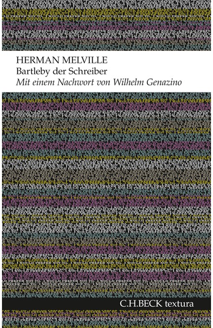 Cover: Herman Melville, Bartleby der Schreiber