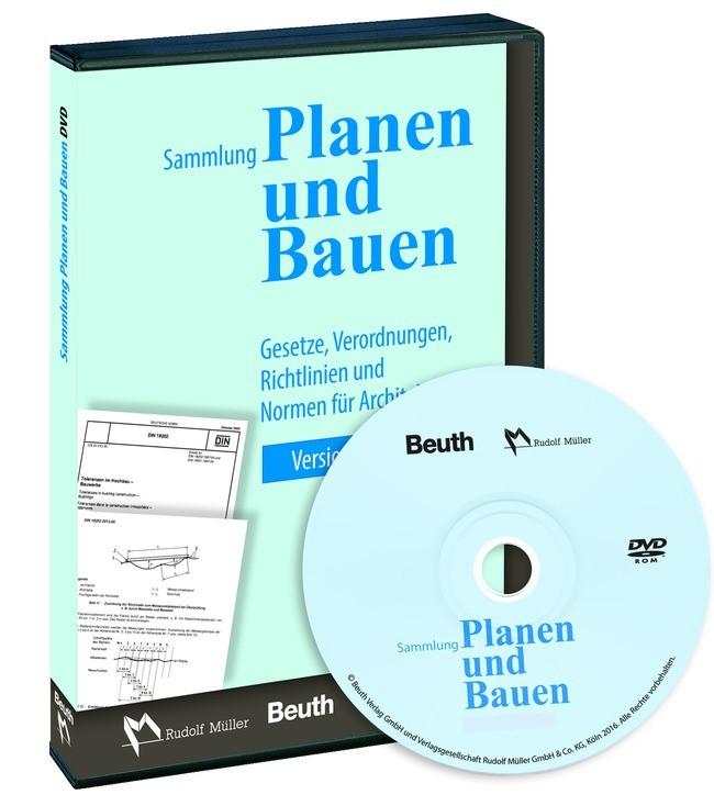Abbildung von Sammlung Planen und Bauen auf DVD | 2010