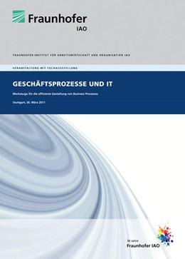 Abbildung von / Spath / Weisbecker / Stanisic-Petrovic | Geschäftsprozesse und IT | 2011 | Werkzeuge für die effiziente G...