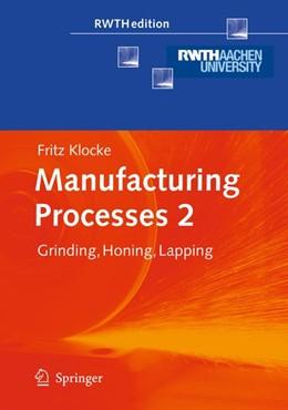 Abbildung von Klocke | Manufacturing Processes 2 | 1. Auflage | 2010 | beck-shop.de