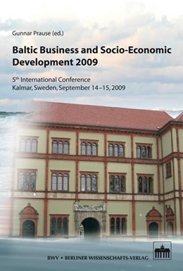 Abbildung von Prause | Baltic Business and Socio-Economic Development 2009 | 2011 | 5th International Conference -... | 3