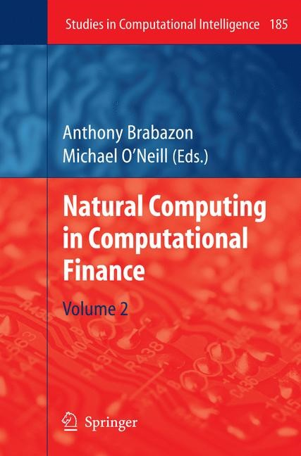 Natural Computing in Computational Finance | Brabazon / O'Neill, 2010 | Buch (Cover)