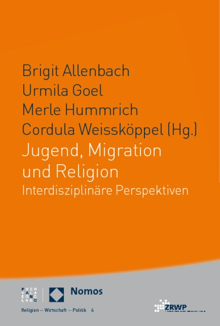 Jugend, Migration und Religion   Allenbach / Goel / Hummrich / Weisskoeppel, 2011   Buch (Cover)