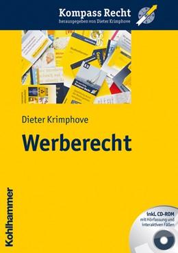 Abbildung von Krimphove | Werberecht | 2011