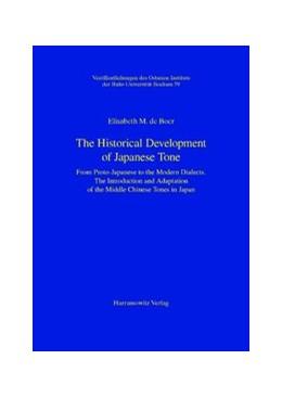 Abbildung von Boer | The Historical Development of Japanese Tone | Print on Demand-Nachdruck | 2010 | From Proto-Japanese to the Mod... | 59