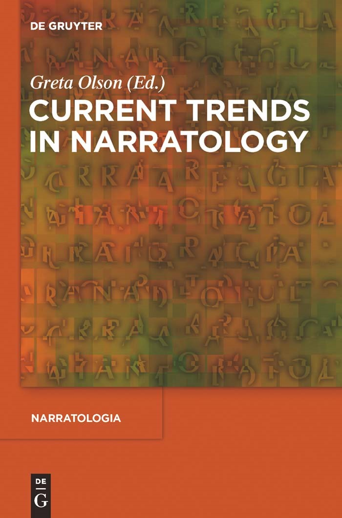 Current Trends in Narratology | Olson, 2011 | Buch (Cover)