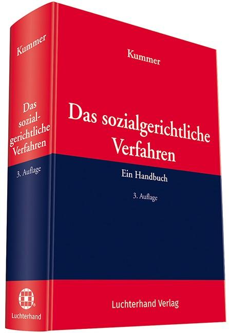 Das sozialgerichtliche Verfahren | Kummer | 3. Auflage, 2018 | Buch (Cover)