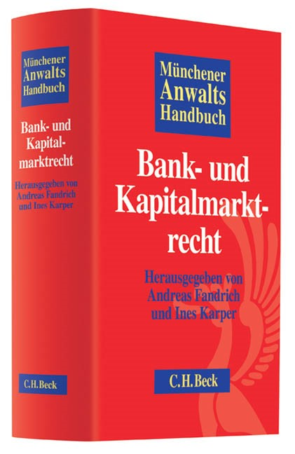 Münchener Anwaltshandbuch Bank- und Kapitalmarktrecht, 2012 | Buch (Cover)
