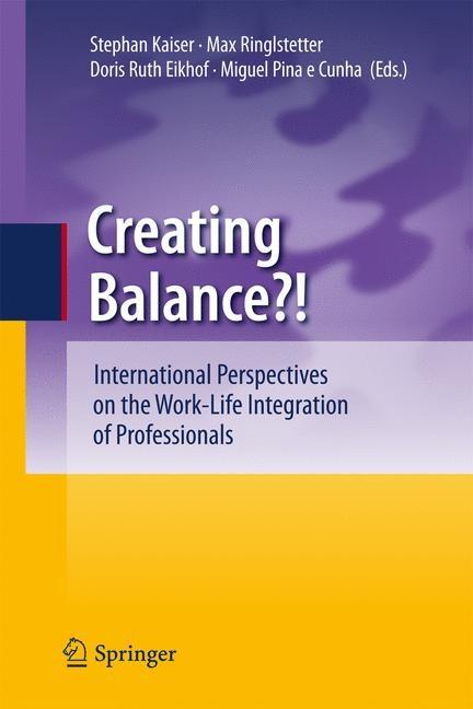 Creating Balance? | Kaiser / Ringlstetter / Eikhof / Pina e Cunha, 2011 | Buch (Cover)