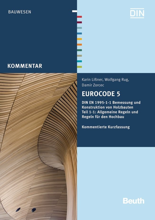 Eurocode 5 | Lißner /  / Rug, 2013 | Buch (Cover)