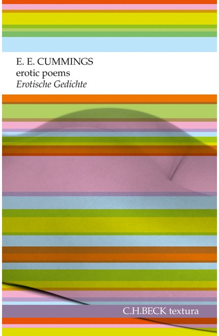 Cover: E.E. Cummings, erotic poems. Erotische Gedichte