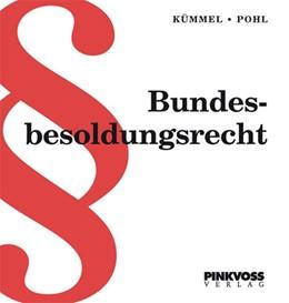 Abbildung von Kümmel / Pohl | Bundesbesoldungsrecht | 1. Auflage | 2019 | beck-shop.de