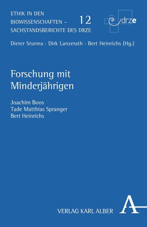 Abbildung von Boos / Spranger / Heinrichs | Forschung mit Minderjährigen | 2010