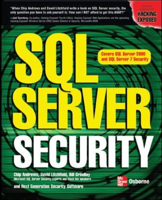 SQL Server Security | Litchfield, 2003 | Buch (Cover)