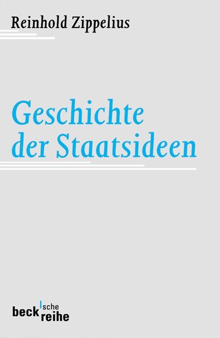 Cover: , Geschichte der Staatsideen