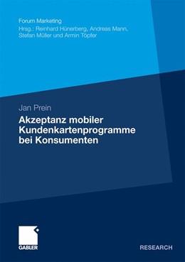 Abbildung von Prein | Akzeptanz mobiler Kundenkartenprogramme bei Konsumenten | 2011 | Theoriegeleitete Modellentwick...