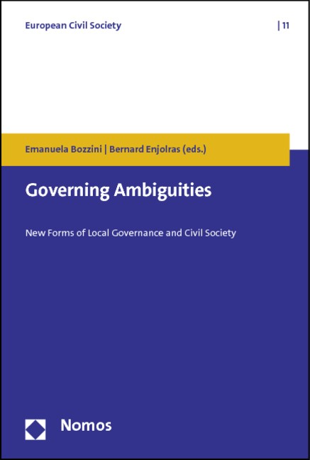 Governing Ambiguities | Bozzini / Enjolras, 2012 | Buch (Cover)