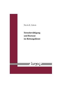 Abbildung von Schorn | Stressbewältigung und Burnout im Rettungsdienst | 2011