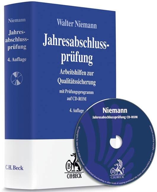 Jahresabschlussprüfung | Niemann | 4., völlig neu bearbeitete und erweitere Auflage (Cover)