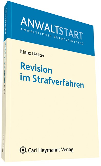Revision in Strafsachen | Detter, 2011 | Buch (Cover)
