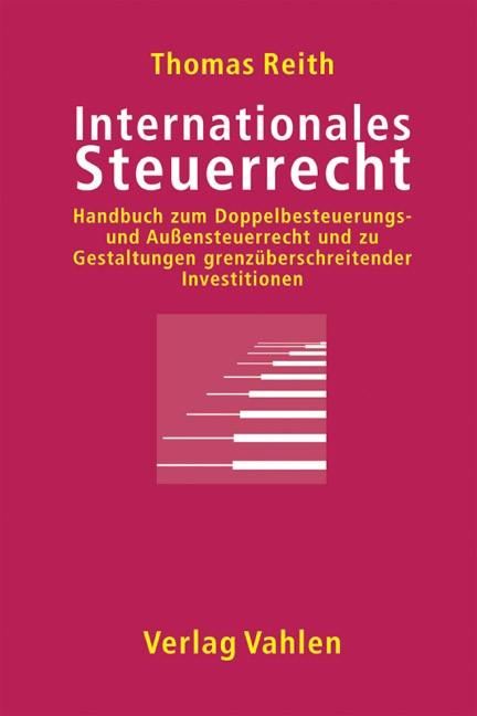 Internationales Steuerrecht | Reith, 2004 | Buch (Cover)