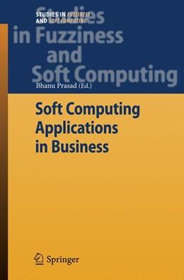 Abbildung von Prasad | Soft Computing Applications in Business | 2010 | 230