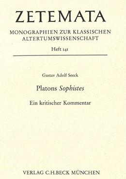 Abbildung von Seeck, Gustav Adolf   Platons Sophistes   1. Auflage   2011   Heft 141   beck-shop.de