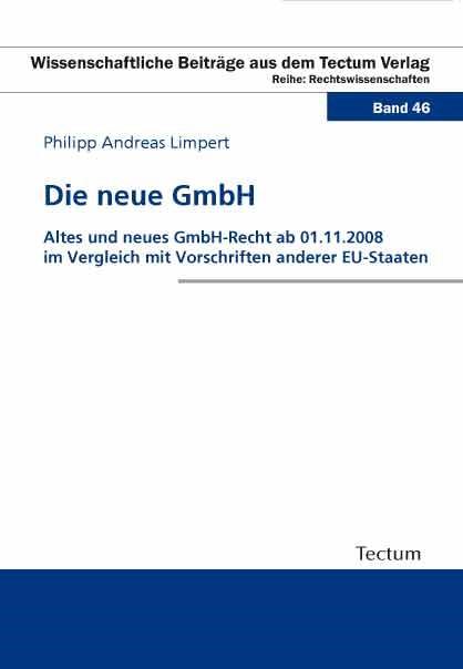 Abbildung von Limpert | Die neue GmbH | 2011