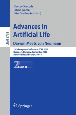 Abbildung von Kampis / Karsai / Szathmáry | Advances in Artificial Life | 1st ed. 2011 | 2013 | 10th European Conference, ECAL...