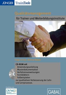Abbildung von Scholz / Walker   Qualitätsmanagement für Trainer und Weiterbildungsinstitute (CD-ROM)   2011