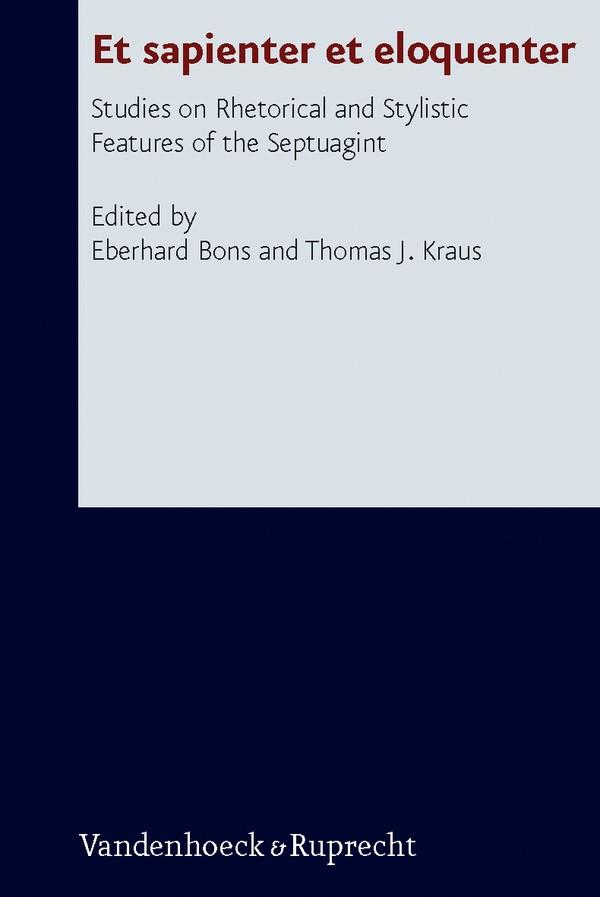 Et sapienter et eloquenter | Bons / Kraus / Köckert, 2011 | Buch (Cover)