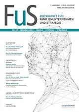 FuS • Zeitschrift für Familienunternehmen und Stiftungen | 9. Jahrgang (Cover)