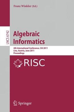 Abbildung von Winkler | Algebraic Informatics | 2011 | 4th International Conference, ...