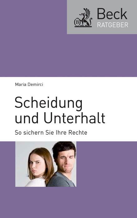 Scheidung und Unterhalt | Demirci, 2011 | Buch (Cover)