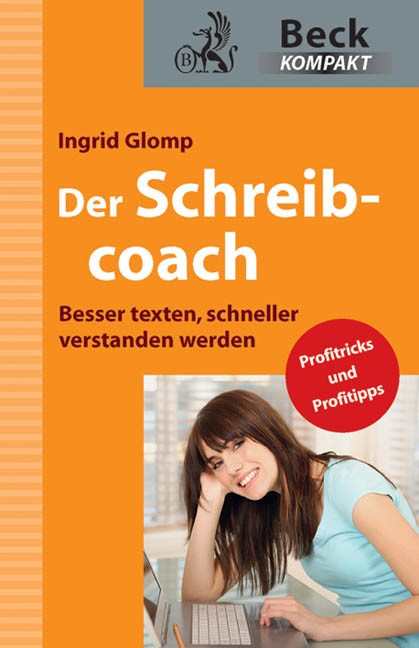 Der Schreibcoach | Glomp, 2011 | Buch (Cover)