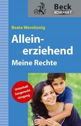 Abbildung von Wernitznig | Alleinerziehend | 2011 | Meine Rechte