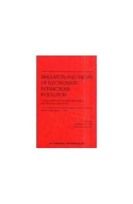 Abbildung von Pratt / Hummer | Simulation and Theory of Electrostatic Interactions in Solution: Computational Chemistry, Biophysics and Aqueous Solutions | 1999 | Santa Fe, New Mexico, USA, 23-... | 492