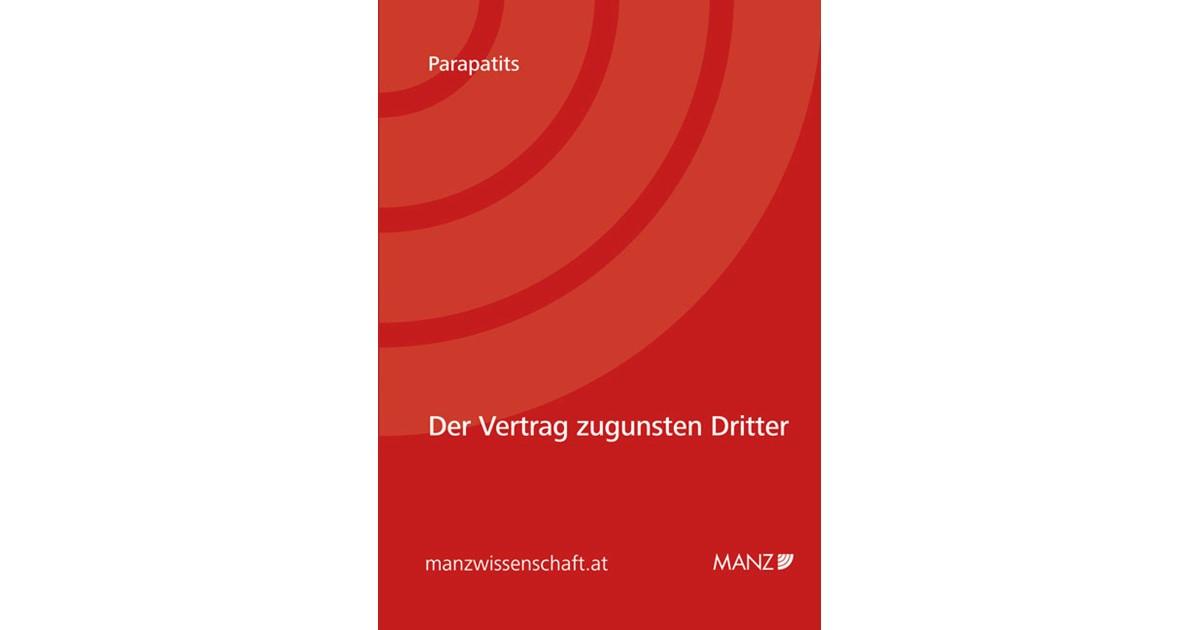 Vertrag Zugunsten Dritter Parapatits 2011 Buch Beck Shopde