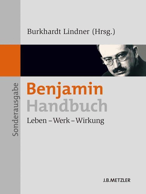 Benjamin-Handbuch | Lindner, 2011 | Buch (Cover)