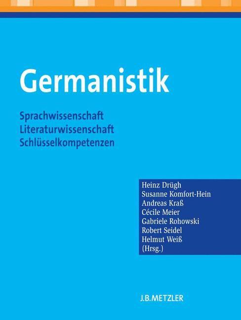 Germanistik | Drügh / Komfort-Hein / Kraß / Meier / Rohowski / Seidel / Weiß, 2012 | Buch (Cover)