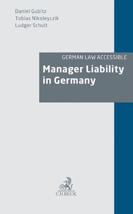 Abbildung von Gubitz / Nikoleyczik / Schult | Manager Liability in Germany | 2012 | Director Liability of Members ...