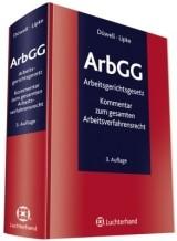 ArbGG - Arbeitsgerichtsgesetz | Düwell / Lipke | Buch (Cover)