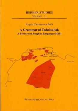 Abbildung von Christiansen-Bolli   A Grammar of Tadaksahak   2010   A Berberised Songhay Language ...   31