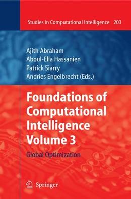 Abbildung von Abraham / Hassanien / Siarry / Engelbrecht | Foundations of Computational Intelligence Volume 3 | 2010 | Global Optimization | 203