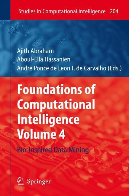 Abbildung von Abraham / Hassanien / Carvalho | Foundations of Computational Intelligence | 2010