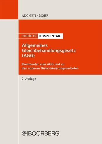 Abbildung von Adomeit / Mohr | Allgemeines Gleichbehandlungsgesetz (AGG) | 2., überarbeitete Auflage | 2011